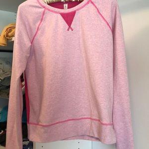 Lulemon runner's sweatshirt—pink